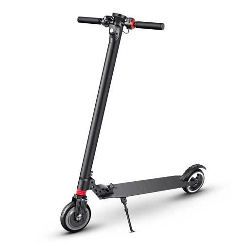 Electric Scooter BIBENE made of carbon fiber in black color