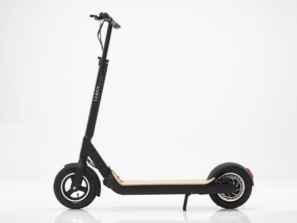 Side picture of IMAX S1 electric scooter