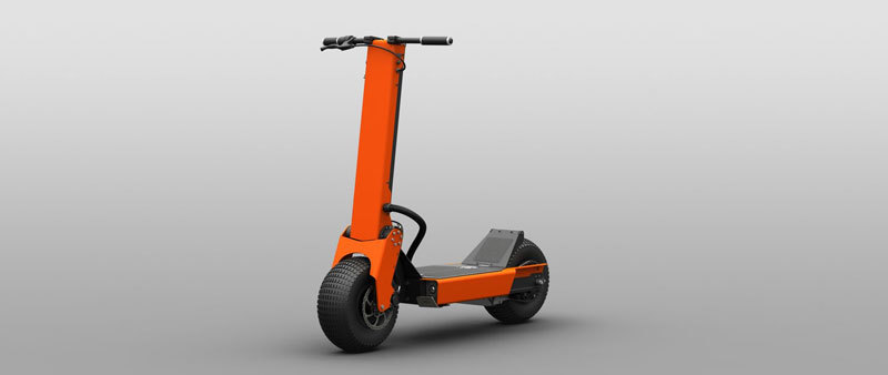 Great designed Works Electric Hollyburn P5 in orange