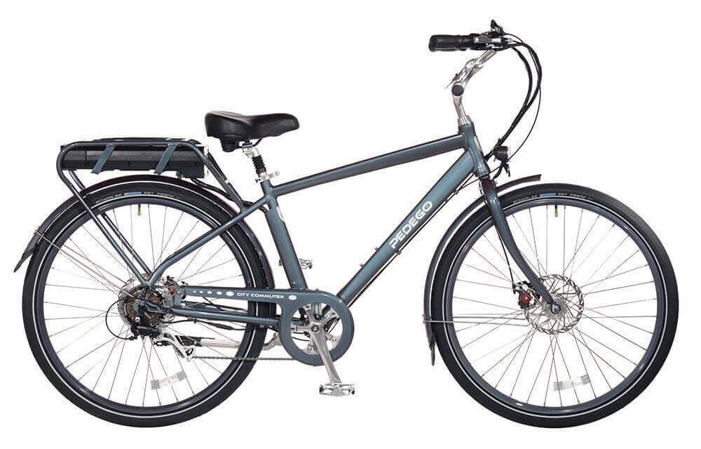 Grey electric bike - Pedego Classic Commuter