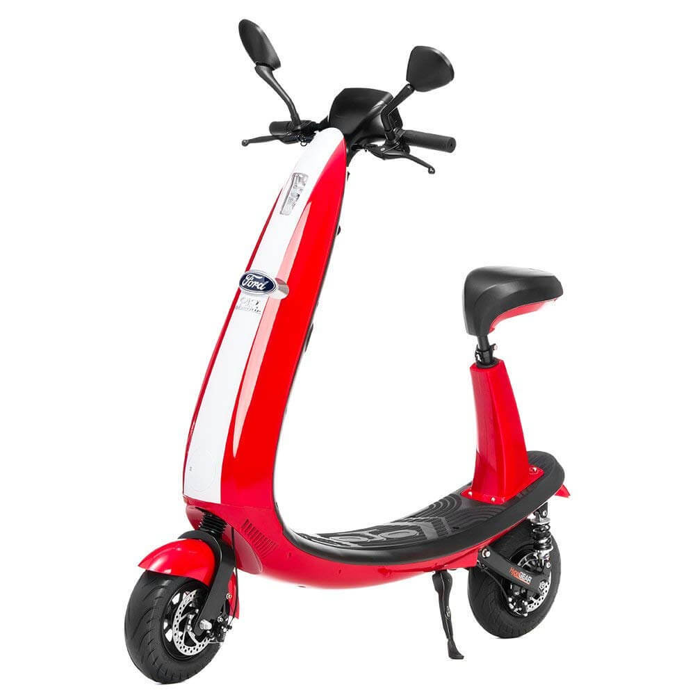 Ford electric scooter with seat - Red version