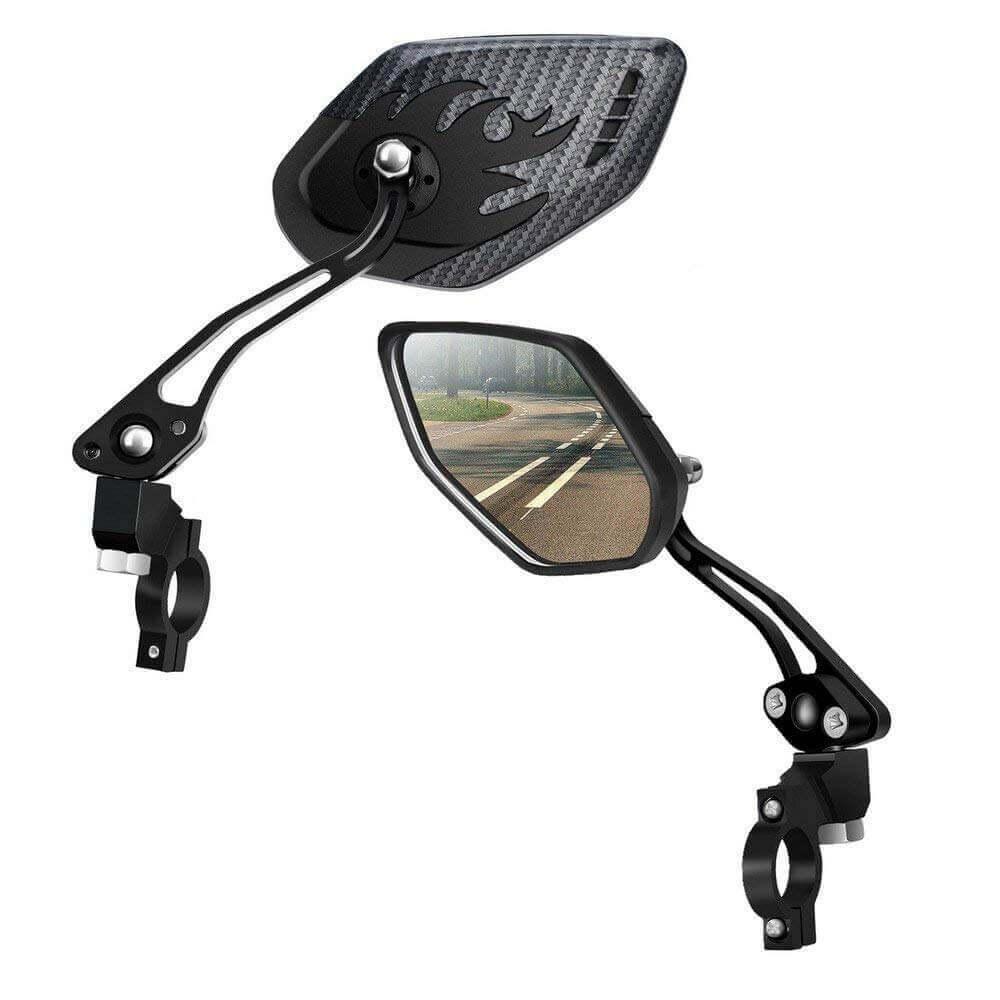 Image of LX LERMX Bike Mirrors on white background