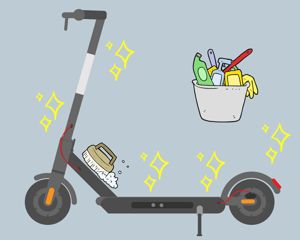 How to clean and storage electric scooter