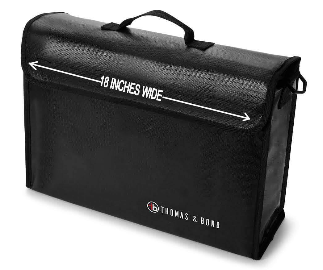 Very big fireproof bag - Thomas & Bond