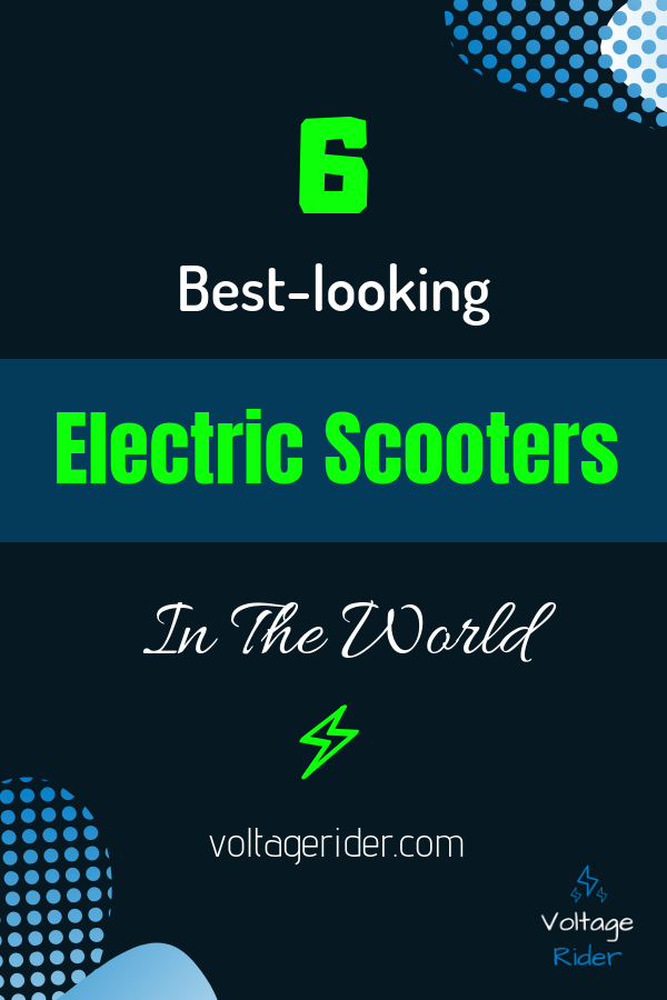 Cover image of electric scooters for pinterest