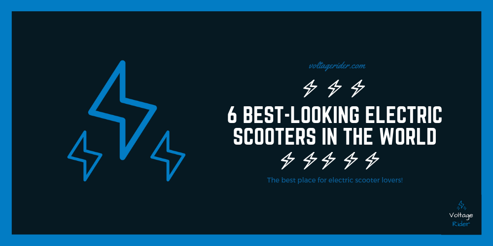 Cover image of the post best looking electric scooters in the world
