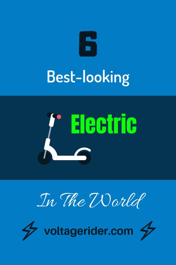 Image de couverture de scooter électrique pour pinterest
