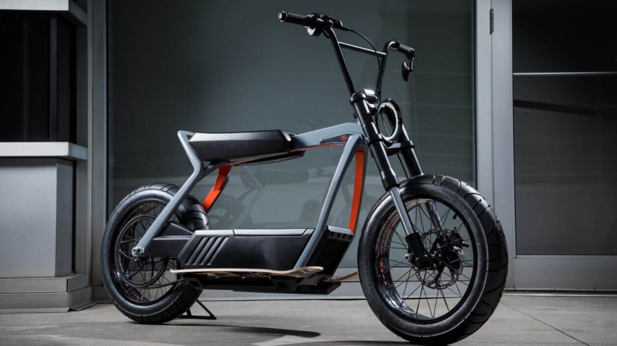 Image of coolest types of electric scooters Electric Harley Davidson