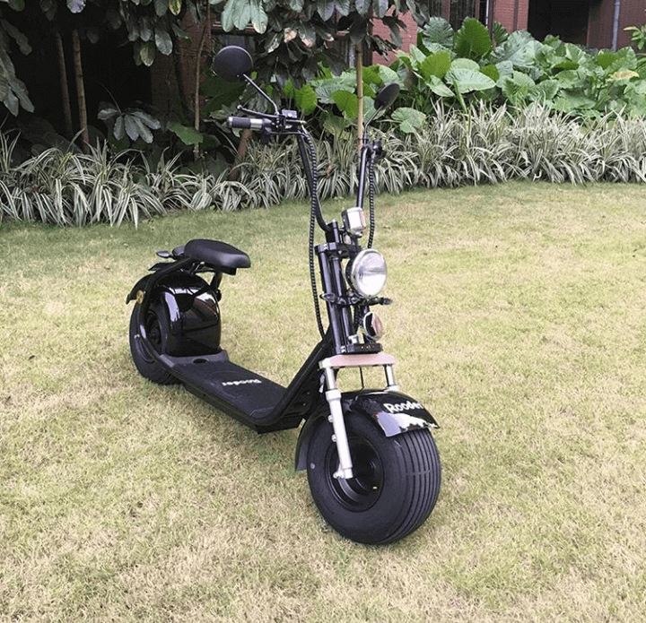 Fat tire chopper look electric scooter