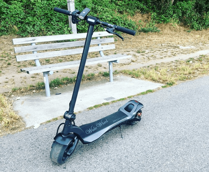Mercane WideWheel best looking electric scooters