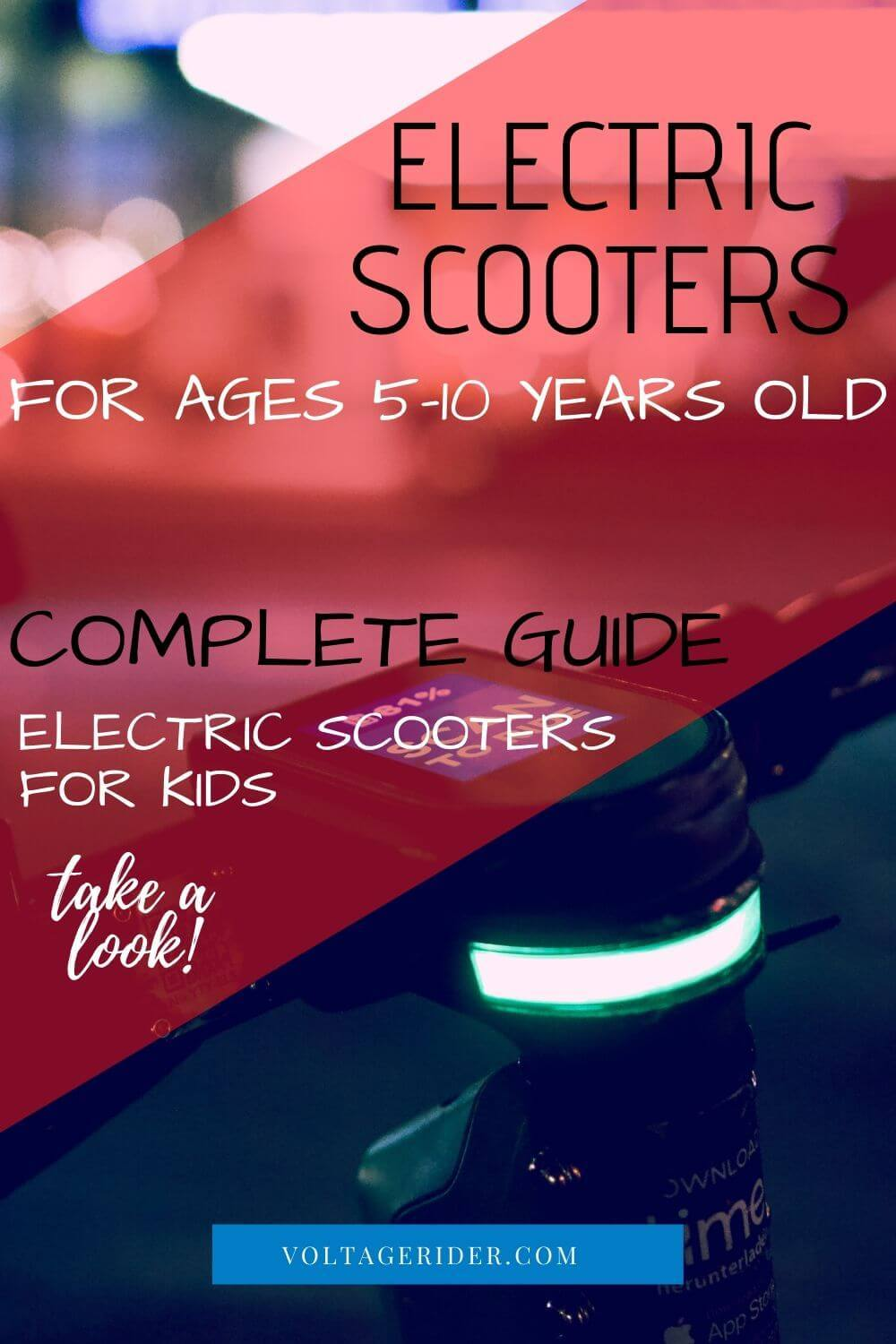 pinterest voltage rider electric scooters for 5 and 10 year old kids