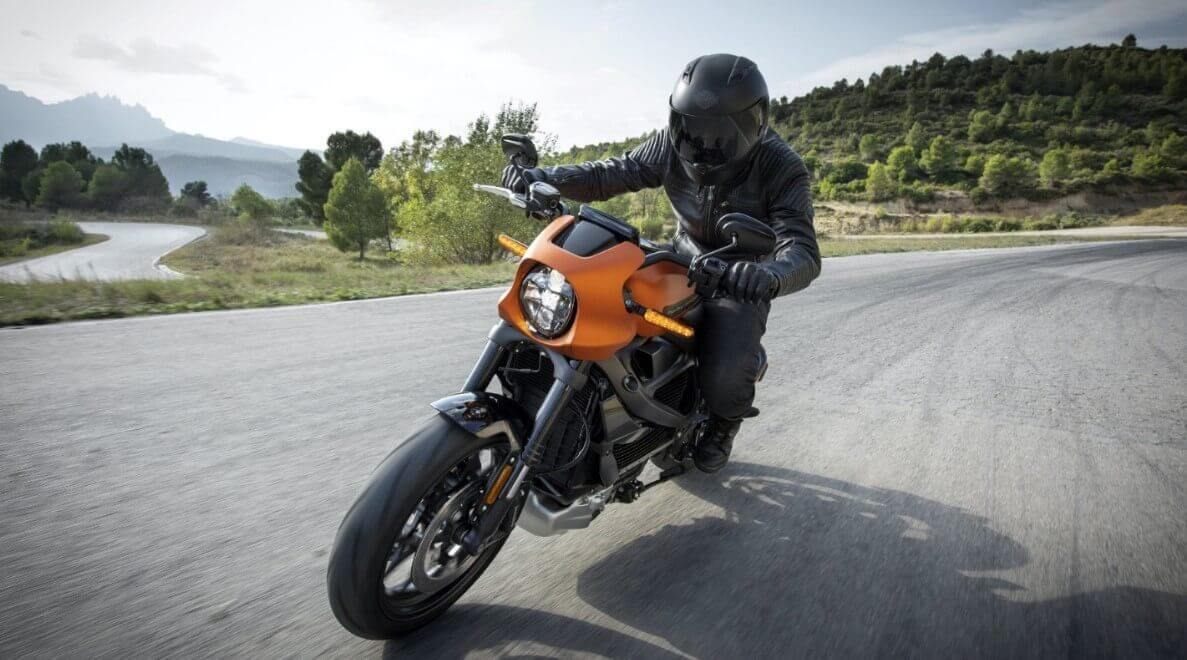 Electric motorcycle speed