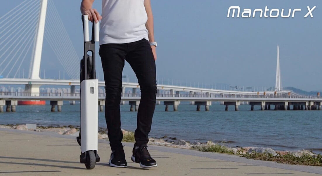 self balancing carbon electric scooter