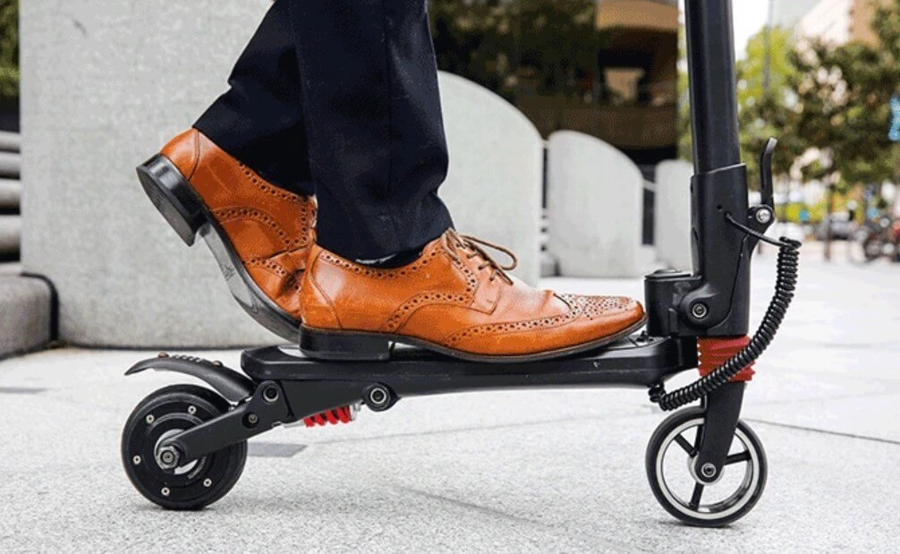 Mini falcon lightweight electric scooter