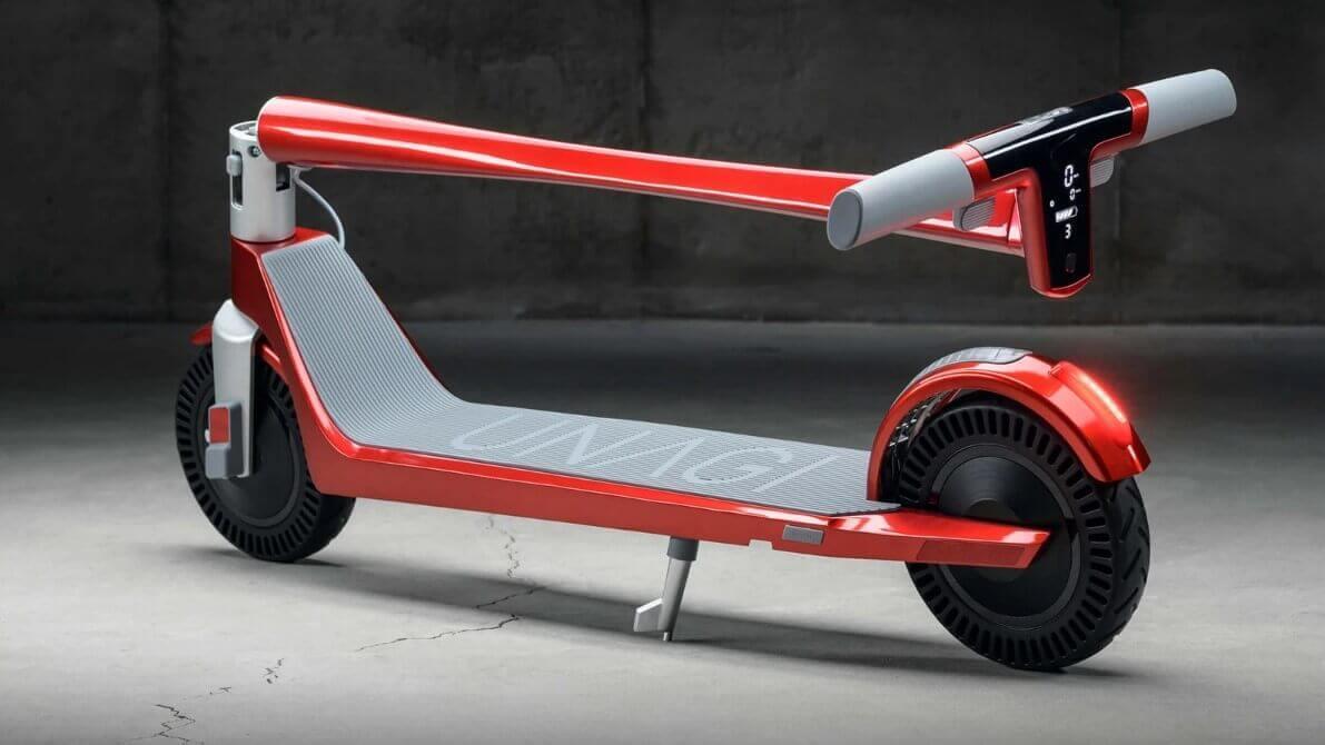 Unagi e500 carbon escooter
