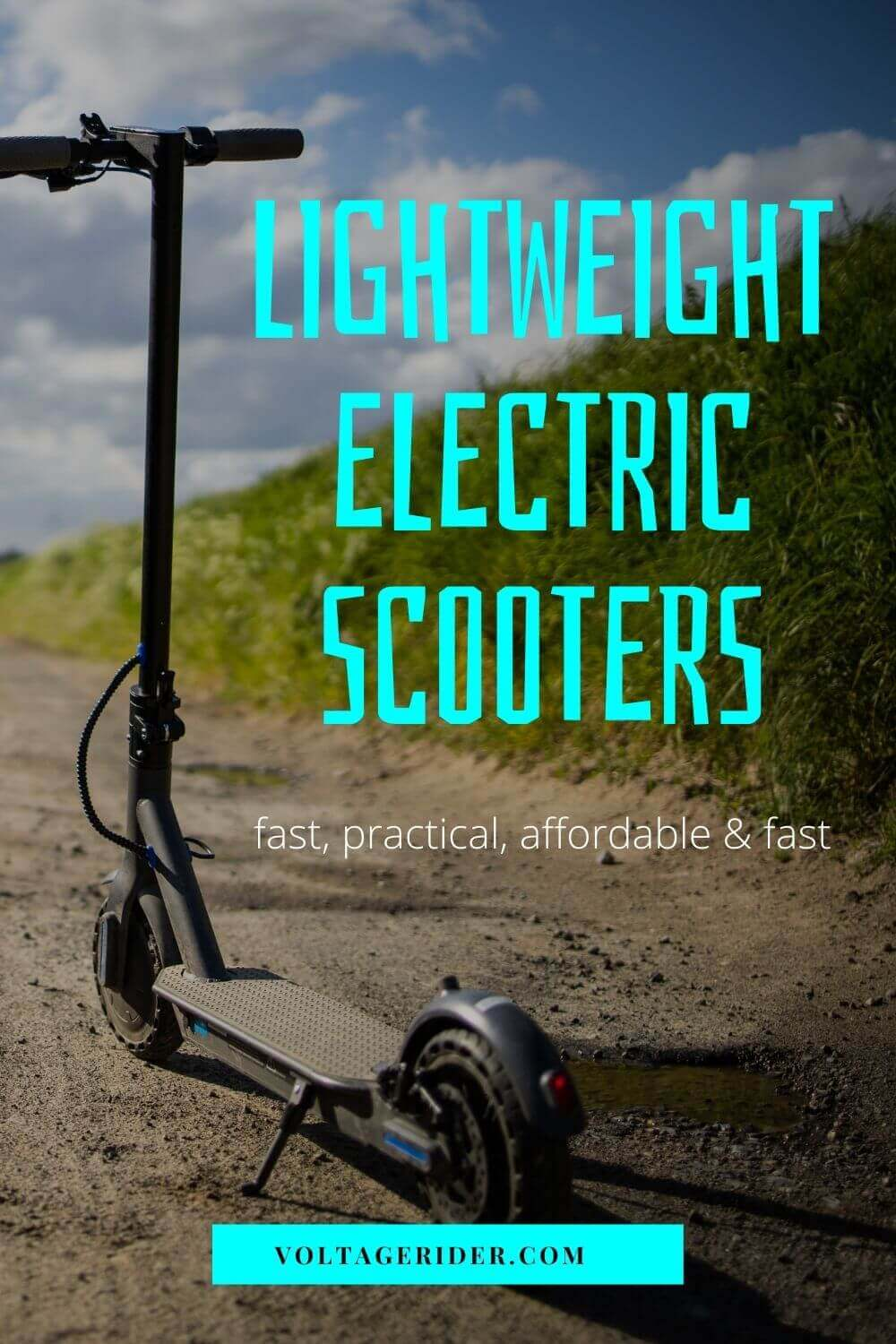 Lightweight electric scooters for all