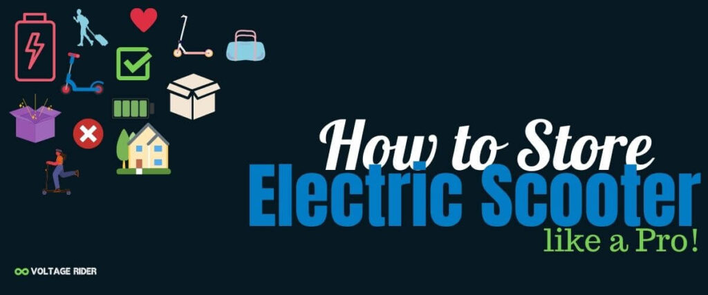 Electric scooter storage ideas and tips