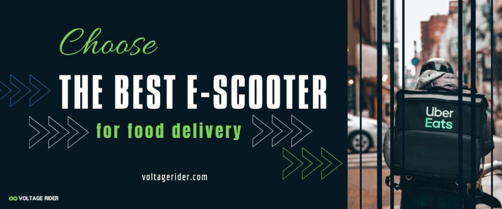 Best electric scooter for food delivery