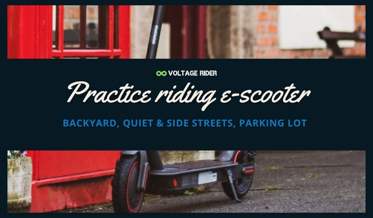 Learn how to be safe on e-scooter