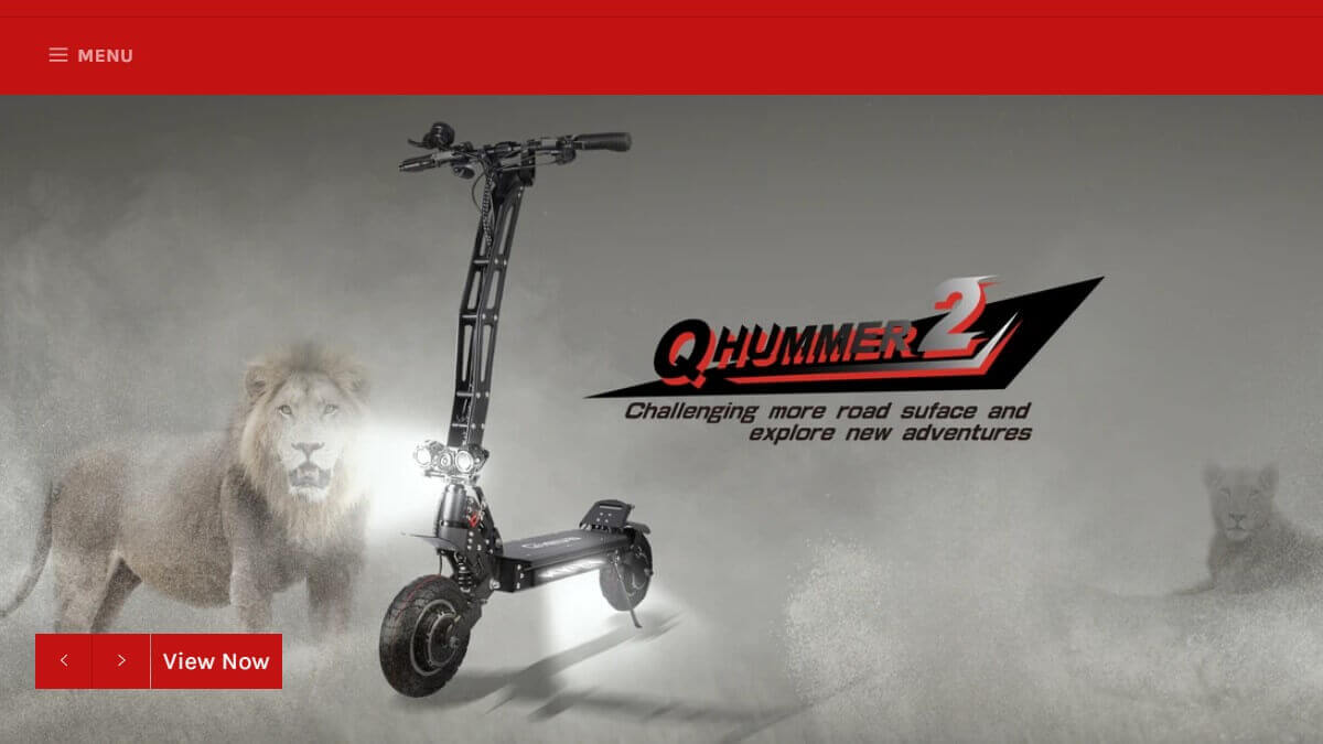 Qiewa scooter website
