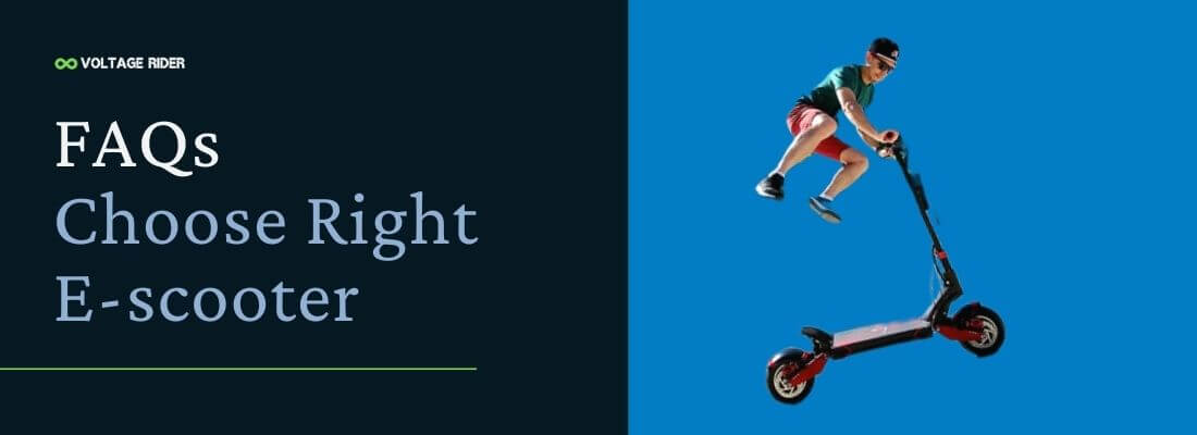 Faqs about how to choose the right electric scooter easy