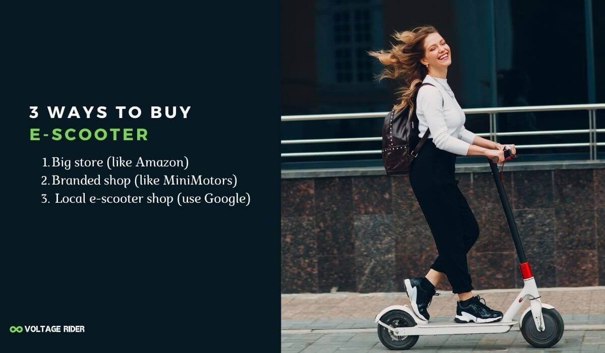 Tips for finding electric scooter store near me