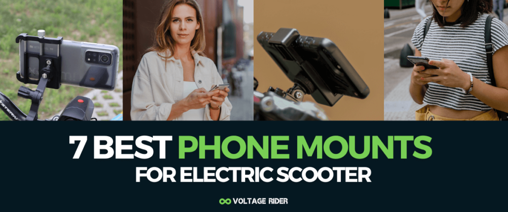 Best Electric Scooter Phone Mounts